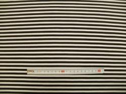 vzor 19-341 JERSEY Avalana  proužek černo-bílý 1 - EKO TEX  třída 1  - do 3 let