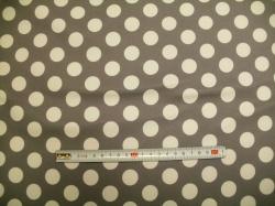 vzor 126633-3007 SOFTSHELL - bílý puntík - EKO TEX  třída 1  - do 3 let