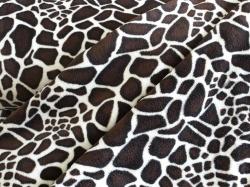 vzor 122981-0801 Fleec - srst žirafa -
