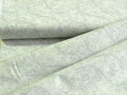 4790-424 Šedé ornamenty na bílé -