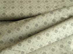 4593-010 Vánoční vločky na šedé - Se stříbrnými prvky