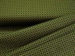 4593-804 Kolečka na lahvově zelené - zlatotisk -