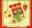 Látky Patchwork - Vánoční panel - sněhuláci
