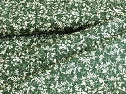 126774-0803 Listy na tmavě zeleném podkladu -
