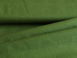 116774-5031 Tečky na lahvově zeleném podkladu -