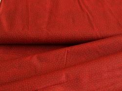 116774-5019 Tečky na tmavě červeném podkladu -