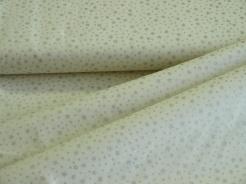 119519-5004 Stříbrné hvězdičky na smetanovém podkladu -