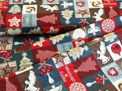 125093-0801 Vánoční motivy - Merry Christmas -
