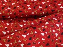 126749-5019 Stromky na červeném podkladu -