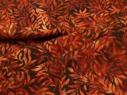 3353-316 Listy na červeném podkladu -