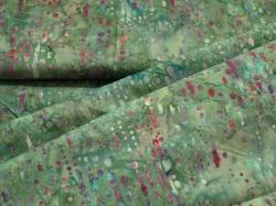 3356-717 Barevné kapky na zeleném podkladu -