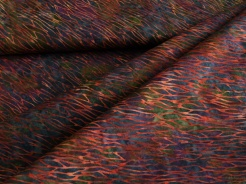 3353-613 Červené ornamenty na tmavém podkladu -