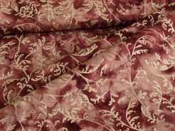 3353-504 Travina na fialovém podkladu -