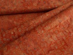 3356-213 Ornamenty na oranžovo-červené -