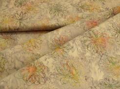 3356-506 Květy na fialovém podkladu -