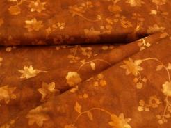 3354-322 Květy na hnědém podkladu -