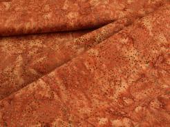 3019-153 Puntíky na tmavě červeném podkladu -