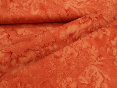 Látky Patchwork - Červená batika