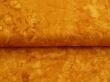 Látky Patchwork - Hnědo-žlutá batika