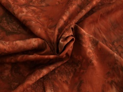 Látky Patchwork - Vínově červená batika
