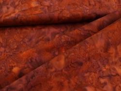 3018-571 Hnědo-fialová batika -
