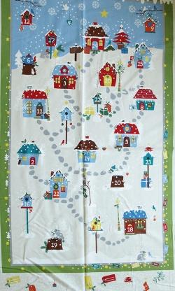 4495-601 Panel 60 cm - adventní kalendář -