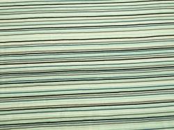 Látky Patchwork - Barevné pruhy na bílém podkladu