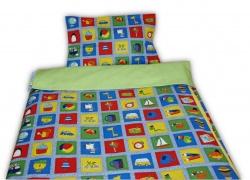 242017-01-2 Dětské povlečení s dekorem PEXESA - polštář 58x43 cm, deka 133x89 cm
