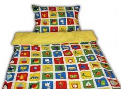 242017-02-1 Dětské povlečení s dekorem PEXESA - polštář 58x43 cm, deka 133x89 cm