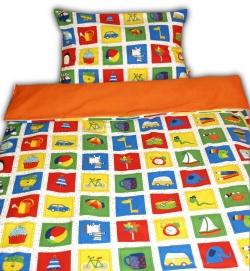 242017-02-2 Dětské povlečení s dekorem PEXESA - polštář 58x43 cm, deka 133x89 cm