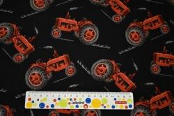 Látky Patchwork - Traktory