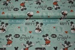 Látky Patchwork - Mickey Mouse