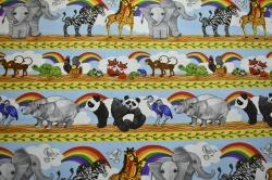 Látky Patchwork - Safari