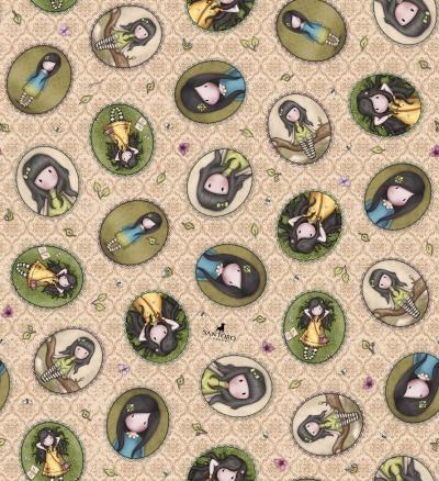 Látky Patchwork - SANTORO Birds of a Feather