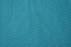 Látky Patchwork - Letní teplákovina - tyrkysová