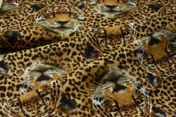 Látky Patchwork - Leopard