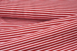 122031-0816 Bílo-červené proužky -