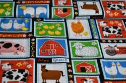 Látky Patchwork - Farma
