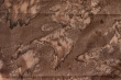 Látky Patchwork - Batika - hnědá