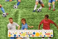 Látky Patchwork - Fotbal
