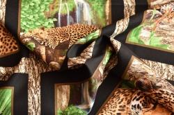 Látky Patchwork - Leopardi