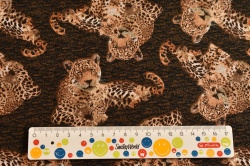 Látky Patchwork - Leopardi II.