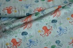 130229-3003 Chobotnice a medůzy na sv. modré -