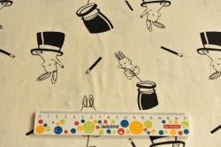 Látky Patchwork - Králík v klobouku
