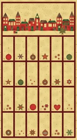 4595-285 Amazing  Stars 285 - Adventní kalendář  60 cm