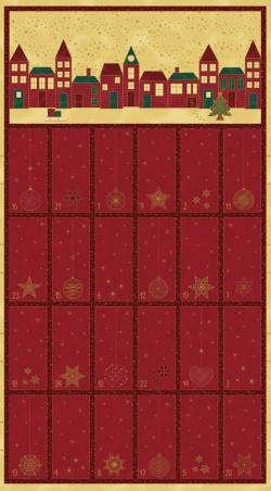 4595-477 Amazing  Stars 477 - Adventní kalendář  60 cm
