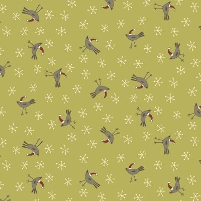 Látky Patchwork - Home for Christmas  451