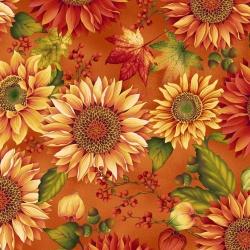 Látky Patchwork - Autumn Album 098