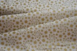 126758-5004 Zlaté hvězdičky na bílé -