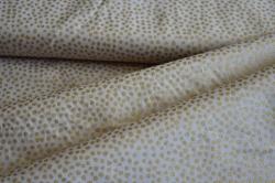 128557-5005 Zlaté puntíky na béžové -